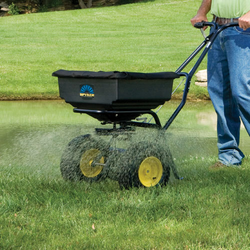 At Red Hen Turf Farm, we carry Spyker Spreaders, which are designed to outperform and built to outlast the competition.