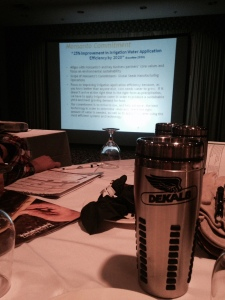 Gordon's view at the Spring 2015 Monsanto Seed Corn Growers Meeting