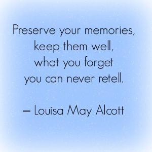 alcott memories