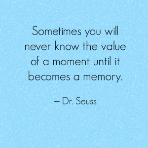 seuss memory quote