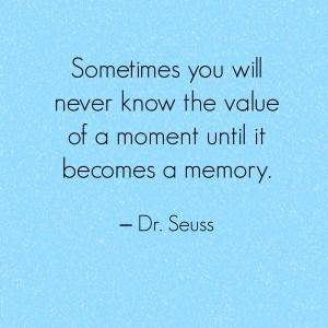 seuss memory quote