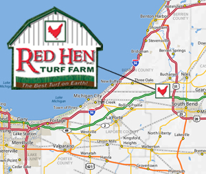Red Hen Map